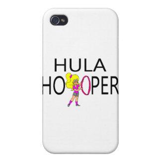 Hula Hooper Girl Covers For iPhone 4