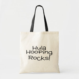 Hula Hooping Rocks Budget Tote Bag
