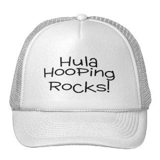 Hula Hooping Rocks Trucker Hat