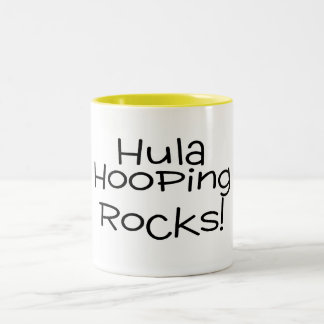 Hula Hooping Rocks Coffee Mugs