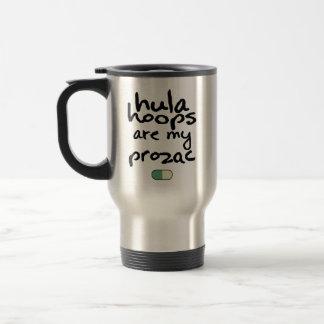 Hula Hoops Are My Prozac Travel Coffee Mug