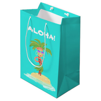 Hula Palm gift bag