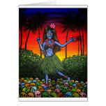 Hula Zombie Cards