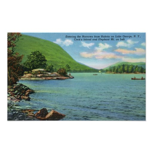 Huletts Entrance to Narrows, Cook's Island Poster