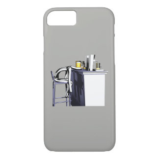 Hull Blows of bar 2 man iPhone 7 iPhone 7 Case