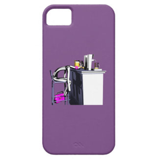 Hull Blows of purple bar woman 2 iPhone iPhone 5 Cases