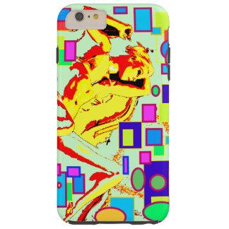 hull delirium sKIZo GiRls Paint Tough iPhone 6 Plus Case