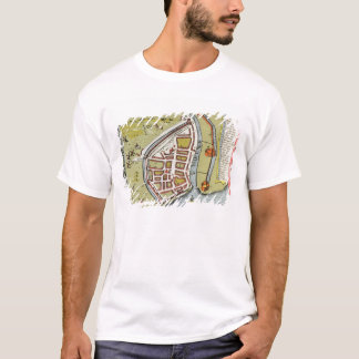 Hull, detail from map of North and East Ridings T-Shirt