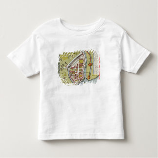 Hull, detail from map of North and East Ridings Toddler T-Shirt
