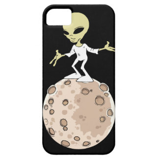 """Hull Iphone 5,5S and SE """"Alien on planet """" iPhone 5 Case"""