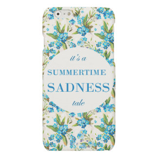 Hull iPhone 5 enamelled SUMMERTIME SADNESS iPhone 6 Plus Case