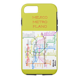 hull iPhone 7/8 plane Mexico City subway iPhone 8/7 Case