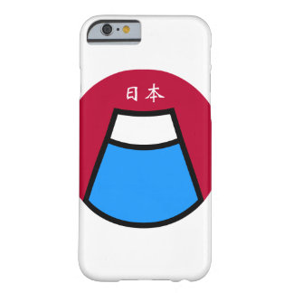 Hull iPhone/Smartphone Mount/Mount Fuji put Barely There iPhone 6 Case
