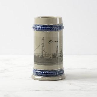 Hull trawler -Gamecock stein Mugs