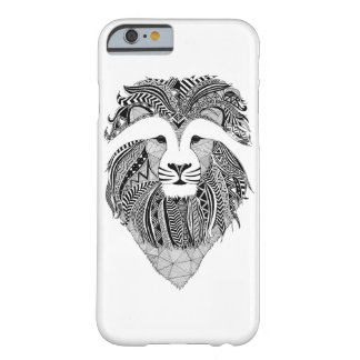 Hulls Boxes Lion dark Barely There iPhone 6 Case
