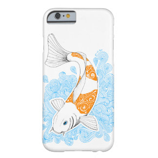 Hulls Boxes orange koi Barely There iPhone 6 Case