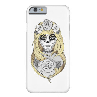 Hulls Boxes Santa Muerte blonde Barely There iPhone 6 Case