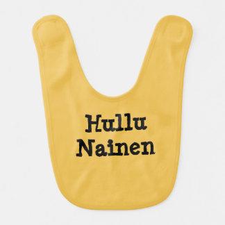 Hullu  Nainen - Crazy Woman in Finnish Bib