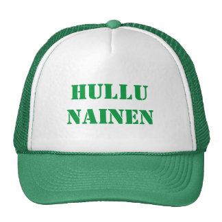 Hullu  Nainen - Crazy Woman in Finnish Cap