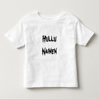 Hullu  Nainen - Crazy Woman in Finnish Toddler T-Shirt