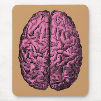Human Anatomy Brain Mouse Mat