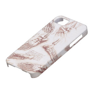 Human Anatomy Skeleton Foot Bones by da Vinci Case For The iPhone 5