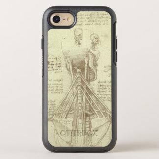 Human Anatomy Spinal Column by Leonardo da Vinci OtterBox Symmetry iPhone 8/7 Case