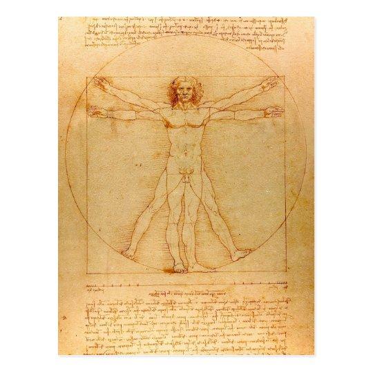 Human Anatomy, Vitruvian Man by Leonardo da Vinci