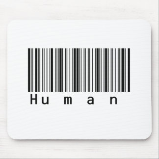Human Barcode Really Scans! Mouse Pad