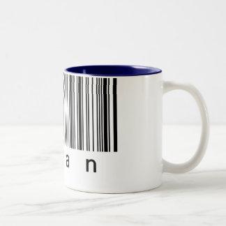 Human Barcode Really Scans! Mug