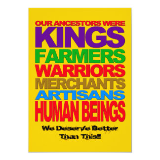 Human Beings Invite