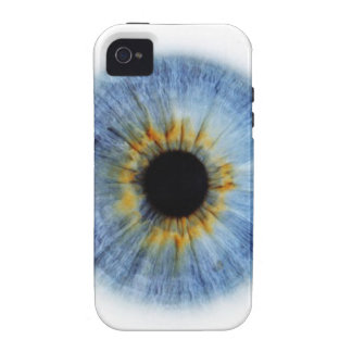 Human blue eyeball case for the iPhone 4