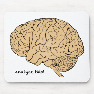 Human Brain: Analyze This! Mouse Mat