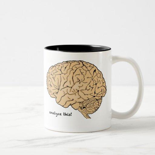 Human Brain Analyze This! mug
