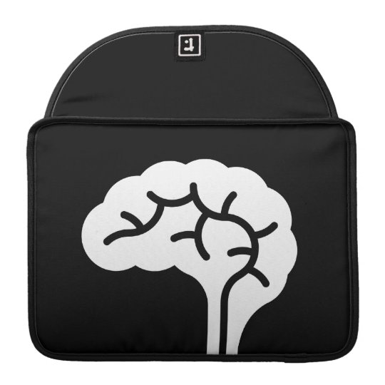 Human Brain Pictogram MacBook Pro Sleeve