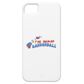 Human Cannonball iPhone 5 Case