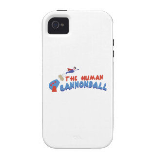 Human Cannonball iPhone 4/4S Cases