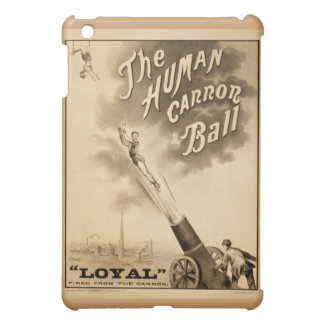 Human Canon Ball 1879 Classic Circus Advertisement iPad Mini Cover