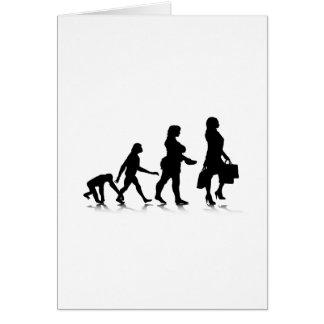 Human Evolution_10 Greeting Card