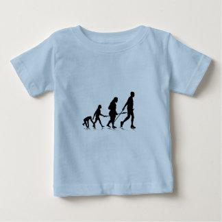 Human Evolution_2 Baby T-Shirt
