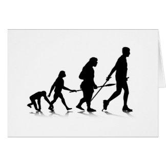Human Evolution_2 Greeting Card