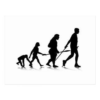 Human Evolution_2 Postcard