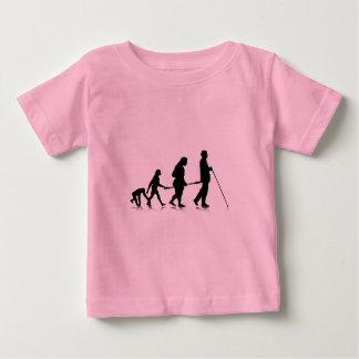 Human Evolution_3 Baby T-Shirt