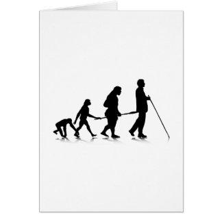 Human Evolution_3 Greeting Card