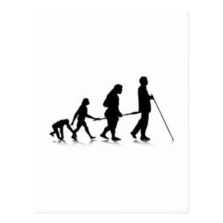 Human Evolution_3 Postcard