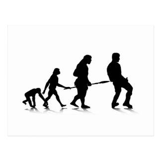 Human Evolution_4 Postcard