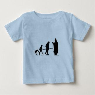 Human Evolution_5 Baby T-Shirt