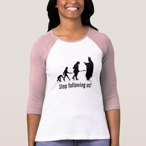 Human evolution 5 lad 3 4 sl rag fit template t shirt for Zazzle t shirt template