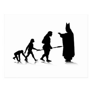 Human Evolution_5 Postcard