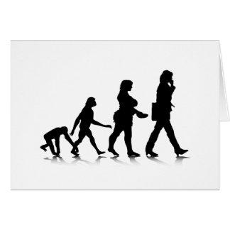 Human Evolution_7 Greeting Card
